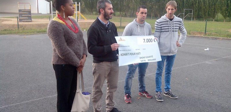 7000€ pour Konbit pour Haïti