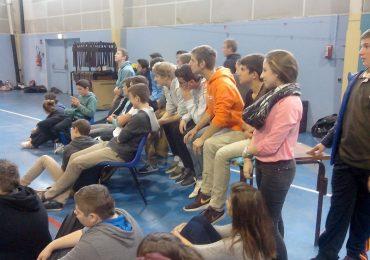 Une journée à Mourenx : Eco-parlement des jeunes