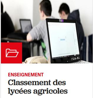 Palmarès des Lycées agricoles : Frantses sur le podium !