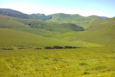 Rando à Arxilondo : visite de 2 bergers