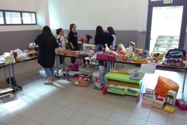 Les élèves organisent un Troc à Lasse