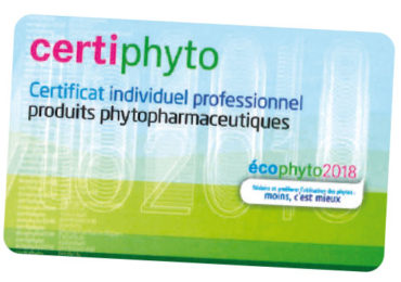 Certi'Phyto avec EHLG