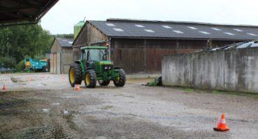 La conduite du tracteur