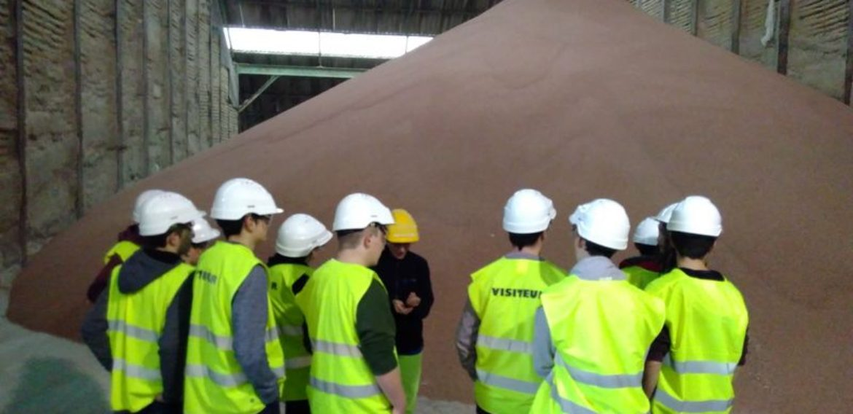 Visite de l'usine d'engrais TIMAC-Agro de Tarnos