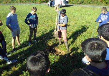 Profil de sol et aérateur avec BLE