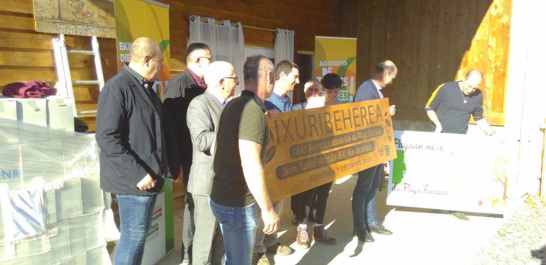 La 300ème ferme Bio du Pays Basque à Ayherre !