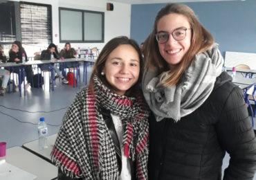 Marina et Maylis représentent leurs camarades à Bordeaux !