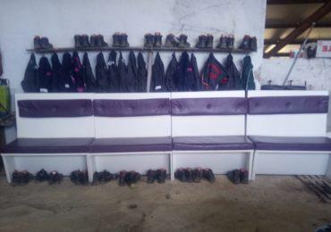 Nouveau vestiaire à la ferme de Jaxu !