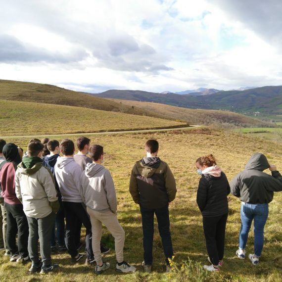 Lecture de paysage à Iparlatze avec le CPIE