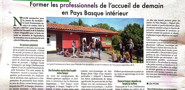 «Former les professionnels de l'Accueil»